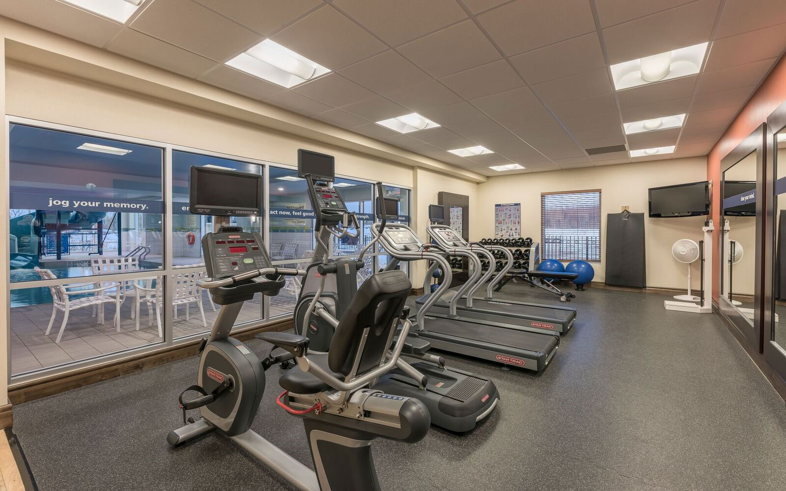 Fitness Hampton Inn & Suites Moncton